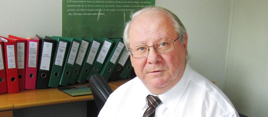 Dr Pierre-Paul Schlegel, Président de l'URPS-ML Alsace