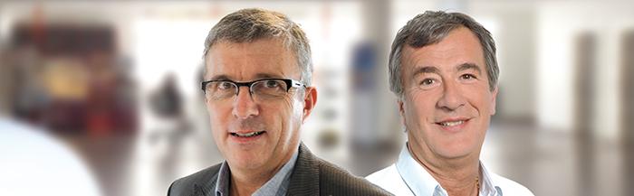 Dr Binon et Dr Boutin